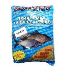 Прикормка DUNAEV фидер лещ, карп, плотва универсальная  в СПб, Санкт-Петербурге купить