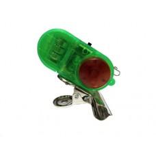 Сигнализатор поклевки электронный с клипсой зеленый в СПб, Санкт-Петербурге