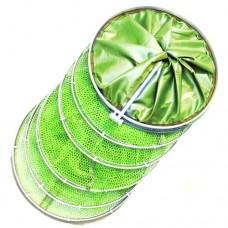 Садок рыболовный круглый светло-зеленый в СПб, Санкт-Петербурге купить