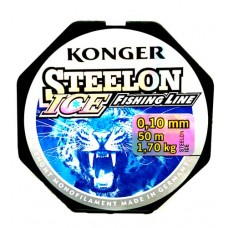 Леска KONGER Steelon ICE 50 м  в СПб, Санкт-Петербурге
