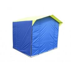Стенка к торг.палатке Митек 2,5х1,9 (зеленый) в СПб, Санкт-Петербурге