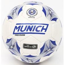 Мяч футбольный MUNICH PRECISION №5 WHITE 5W-87168 в СПб, Санкт-Петербурге купить