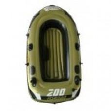 Лодка надувная Fishman 200 SET (весла+насос)  JL007207-1N в СПб, Санкт-Петербурге