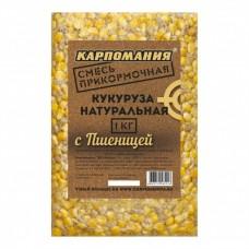 Кукуруза натуральная для рыбалки Карпомания 1кг Пшеница в СПб, Санкт-Петербурге