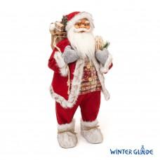 Игрушка Дед Мороз под елку 80 см M95 в СПб, Санкт-Петербурге