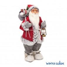 Игрушка Дед Мороз под елку 60 см M2124 в СПб, Санкт-Петербурге