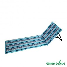 Пляжный коврик со спинкой Green Glade М2301 в СПб, Санкт-Петербурге