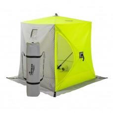 Зимняя палатка Куб Premier трехслойная 1,5х1,5 (PR-ISCI-150YLG) в СПб, Санкт-Петербурге