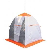 Палатка рыбака Нельма 1 (автомат) (оранжевый/беж/хаки)