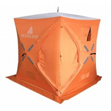 Зимняя палатка куб Woodland Ice Fish 2 New (синий) в СПб, Санкт-Петербурге