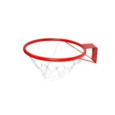 Кольцо баскетбольное №5 с сеткой в СПб, Санкт-Петербурге