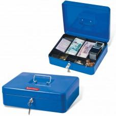 Ящик для денег Brauberg 90х240х300 мм, синий 290336 в СПб, Санкт-Петербурге