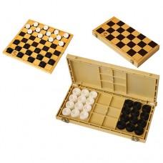 Шашки с шахматной доской 30*30см ES-0292 в СПб, Санкт-Петербурге
