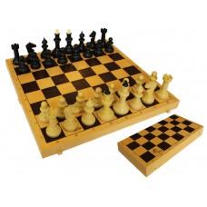 Шахматы обиходные с шахматной доской 03-035 в СПб, Санкт-Петербурге