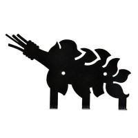 Вешалка Банные Штучки Веник металлическая 3 крючка 32491